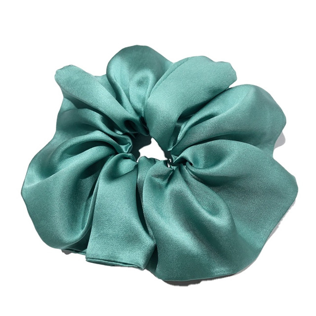Vintage handmade silk scrunchies 100% silk high-grade eco-friendly pure soft grade